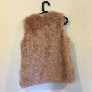 Neiman Marcus CUSP Jackets & Coats - Neiman Marcus Cusp faux fur vest